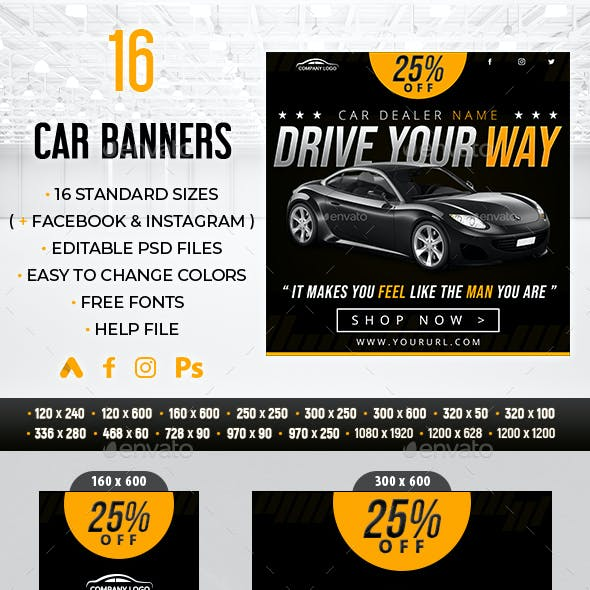 Car Banners