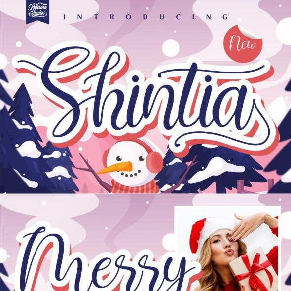 Shintia - Beautiful Script Font