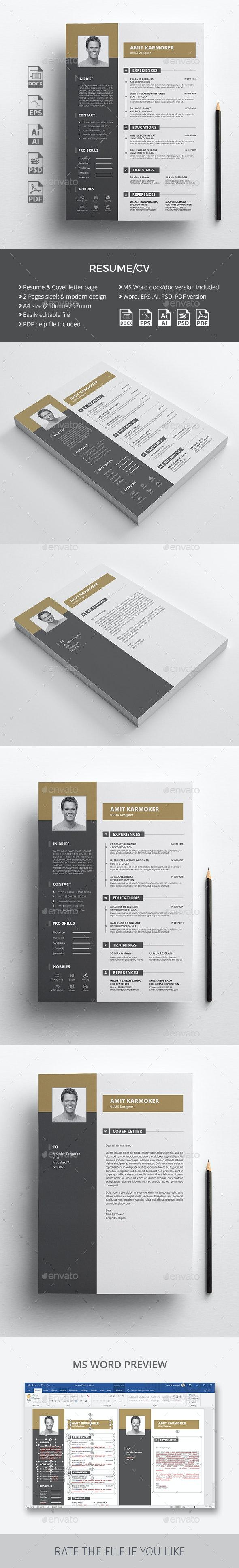 The Resume CV - Resumes Stationery