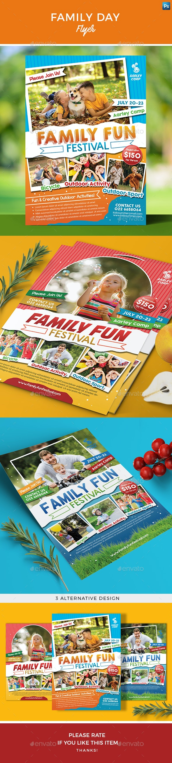 Family Day Flyer - Events Flyers