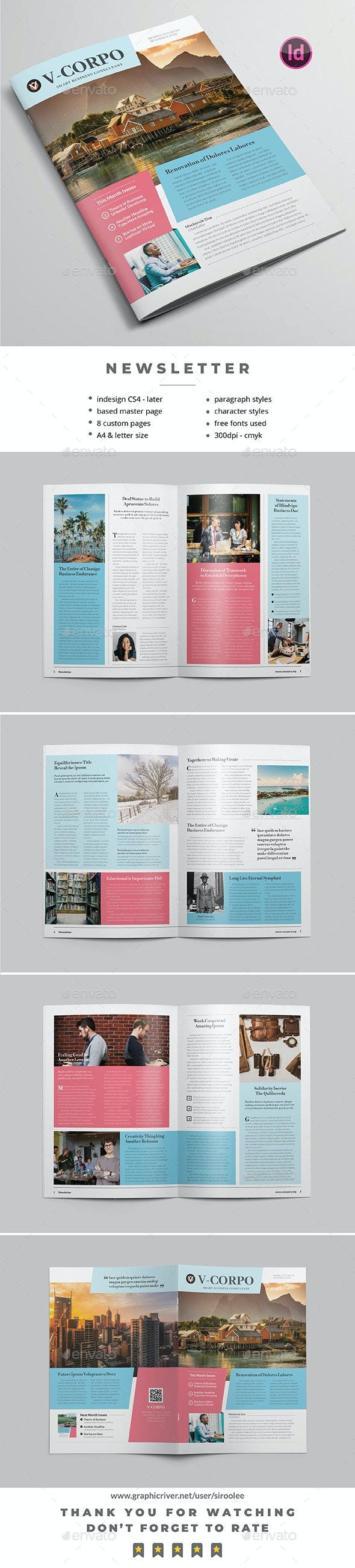 Multipurpose Newsletter v.13 - Newsletters Print Templates