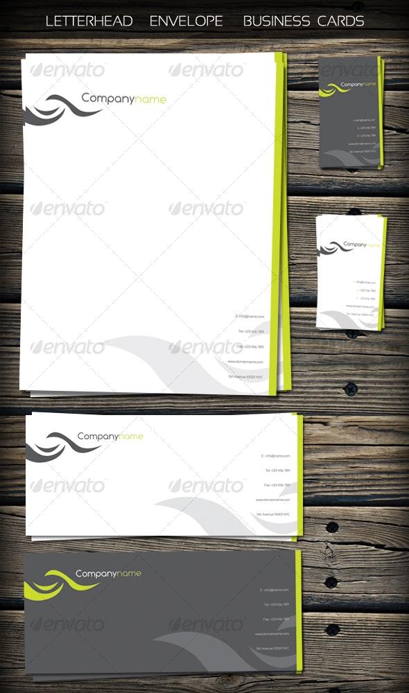 Identity Kit - Stationery Print Templates