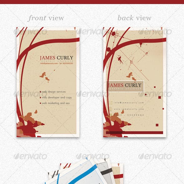 Personal Business Card PSD