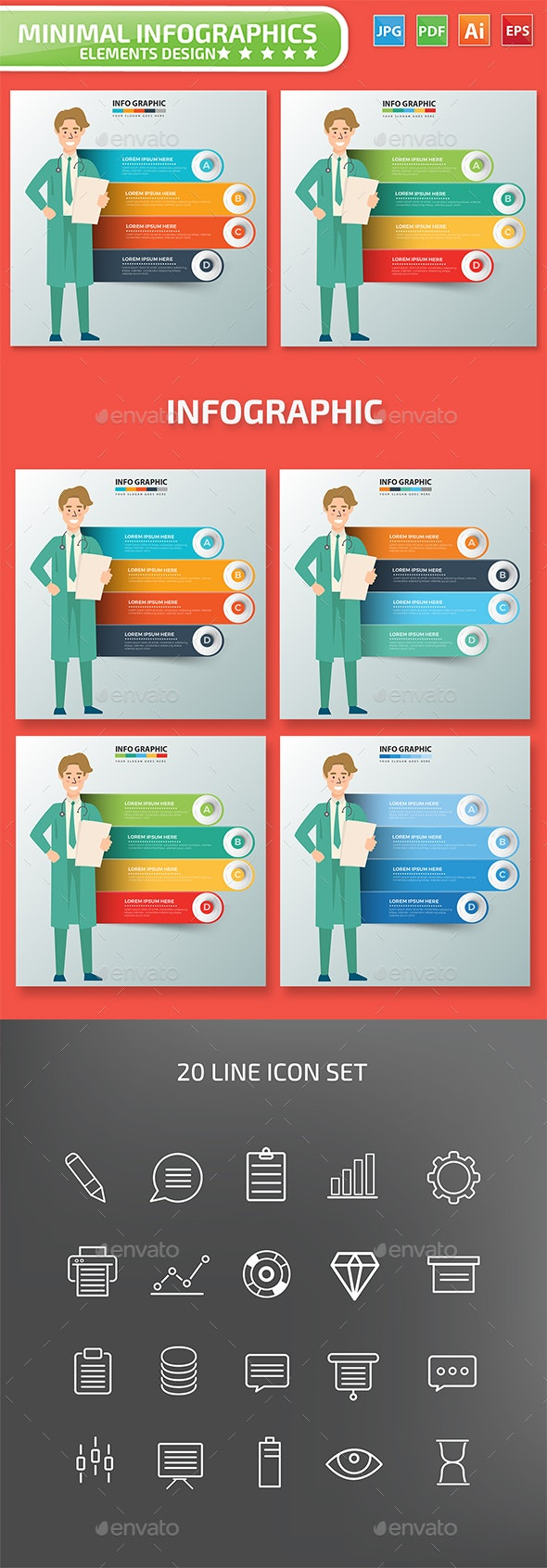 Doctor Infographics - Infographics
