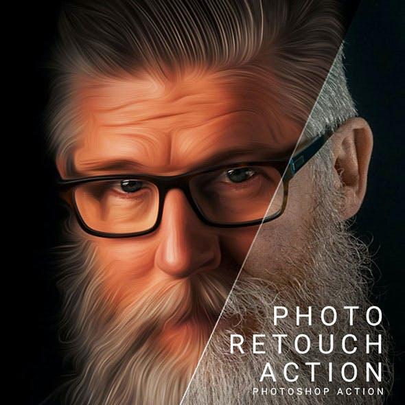 Photo Retouch Action