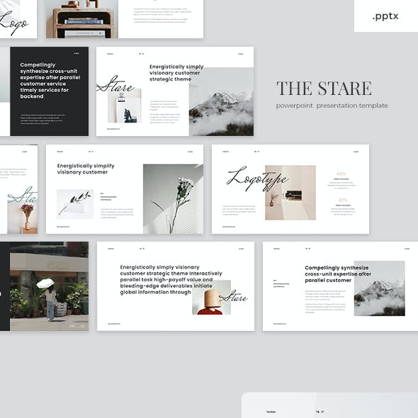 The Stare - Powerpoint Template