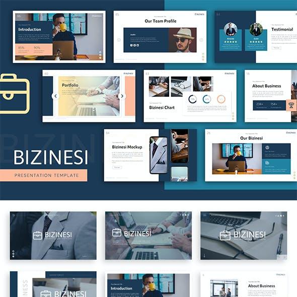 Bizinesi Business Presentation