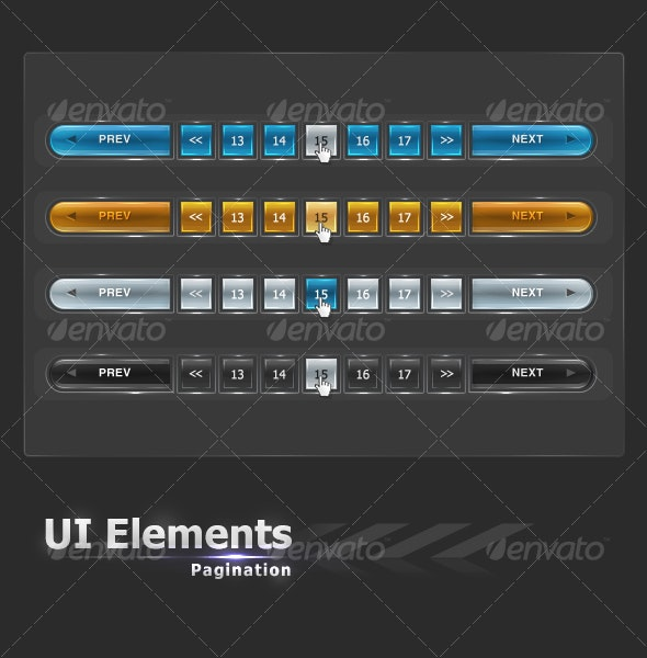 UI Elements #2 - Pagination - Web Elements