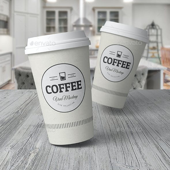Paper Cup Mock-up