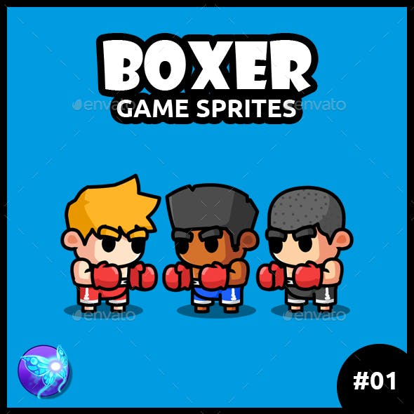 Boxer Game Characters 01