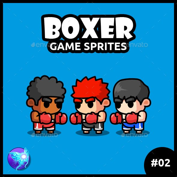 Boxer Game Characters 02
