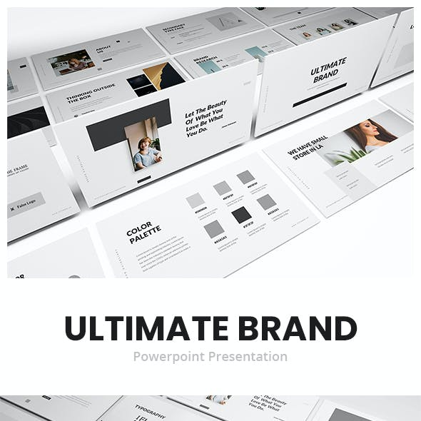 Ultimate Brand Guideline Powerpoint Template