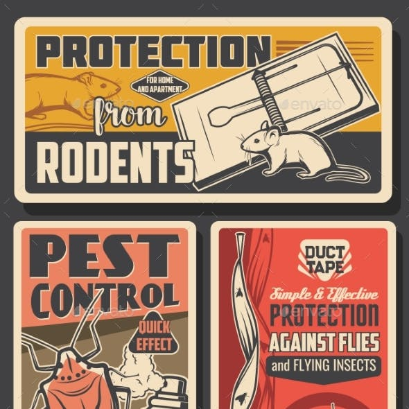 Pest Control Insects and Rodents Extermination