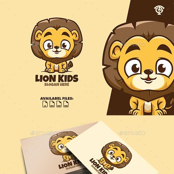 Lion Kids - Logo Mascot
