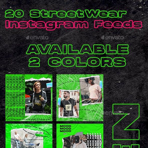 20 Streetwear Instagram Feed