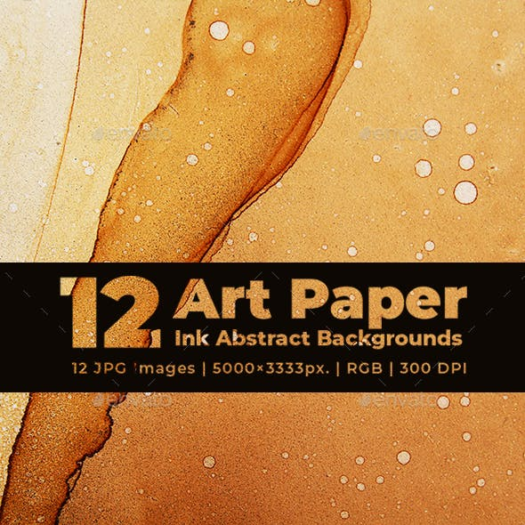 Art Paper Ink Abstract Backgrounds