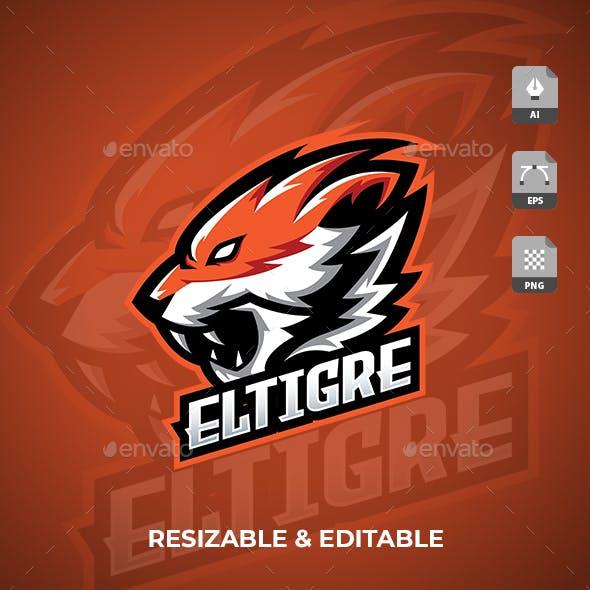 Tiger Gaming Sport Logo