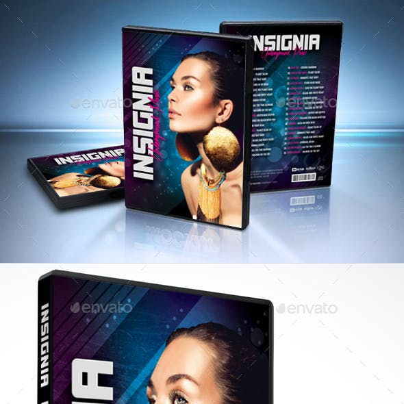 Insignia Underground Music DVD Cover Template