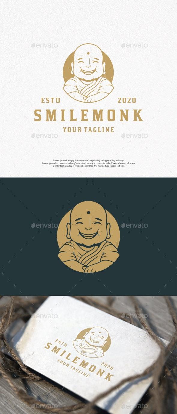 Smile Monk Vector Logo Template - Humans Logo Templates