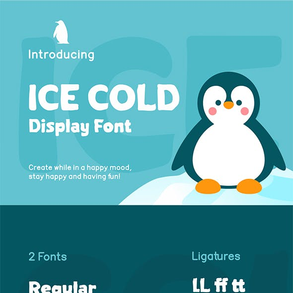 Ice Cold Font