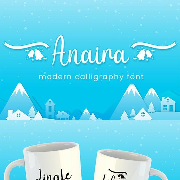 Anaira - Christmas Font