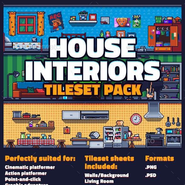 House Interiors Tileset Pack