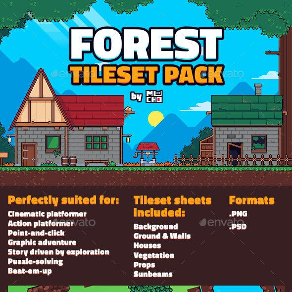 Forest Tileset Pack