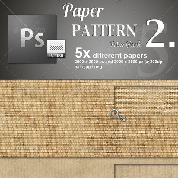 Paper Pattern MIX 2