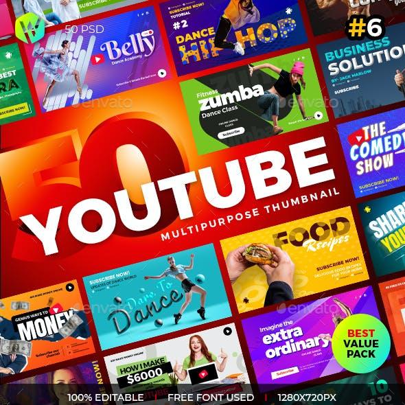 50 Youtube Thumbnail - V6