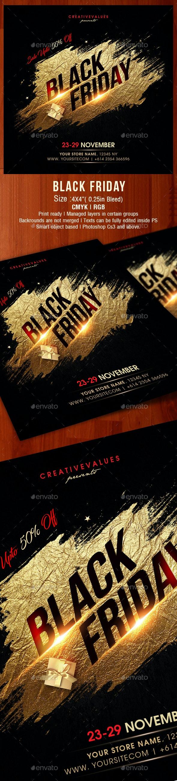 Black Friday - Holidays Events