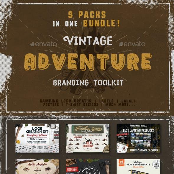 Vintage Adventure Branding Toolkit