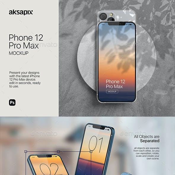 Phone 12 Mockup 2020