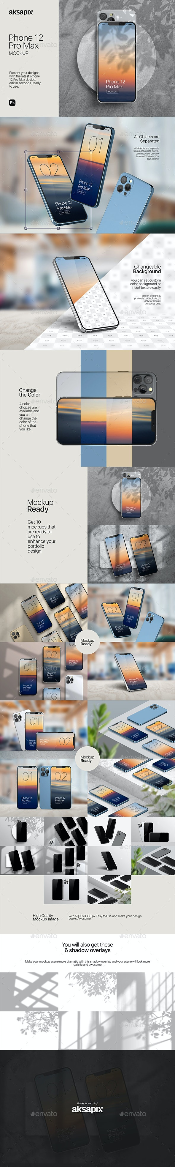 Phone 12 Mockup 2020 - Mobile Displays