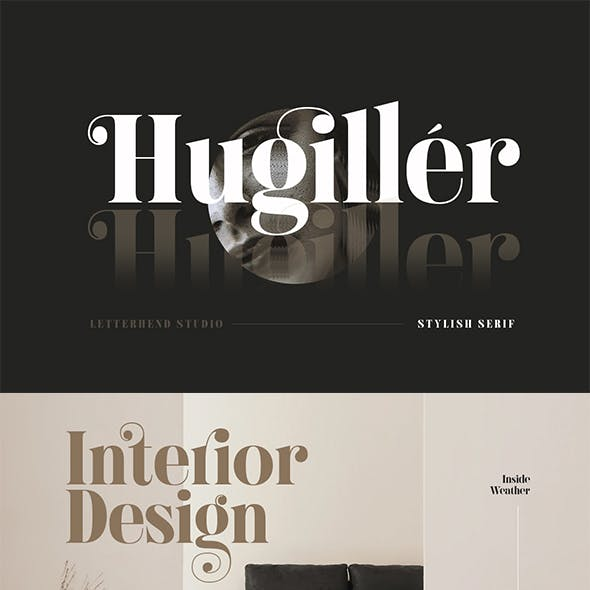Hugiller - Stylish Serif
