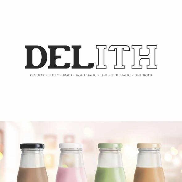 Delith Slab Serif Font Family