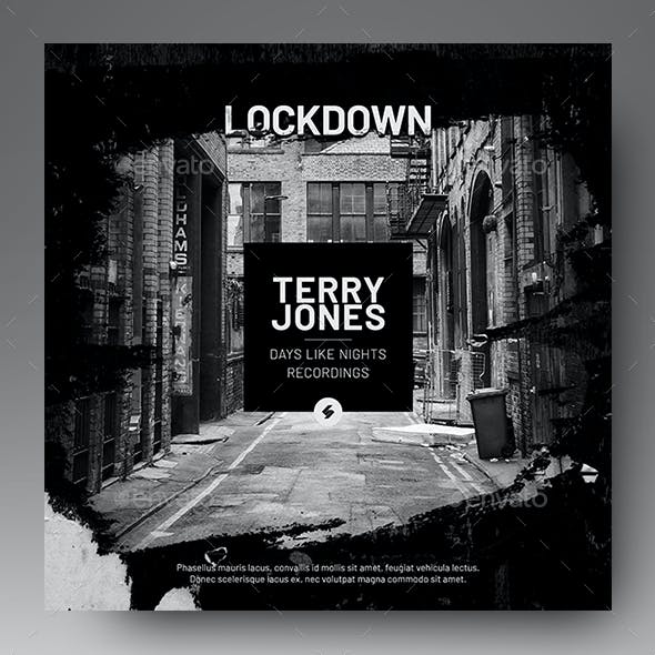 Lockdown – Music Album Cover Artwork / Video Thumbnail Template