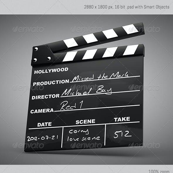 Movie Clapper Kit