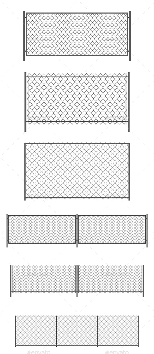 Chainlink Fence - Man-made Objects Objects