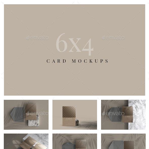 Postcard / Invitation Card Mockups