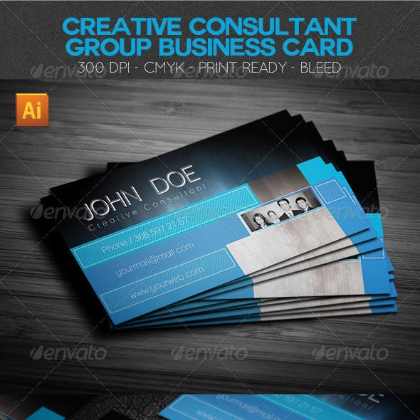 Creative Consultant Group Business Card