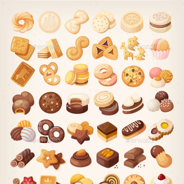 Cookies and Biscuits of the World