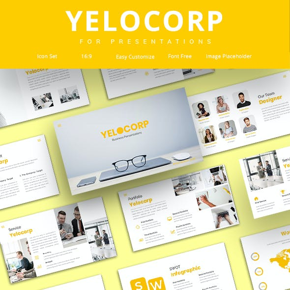 Yelocorp - Creative Business Google Slide Template