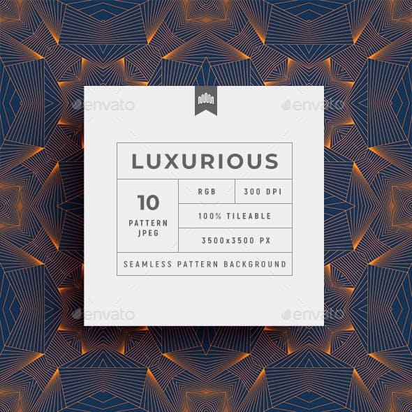 Luxury Geometric Line Seamless Pattern - Background