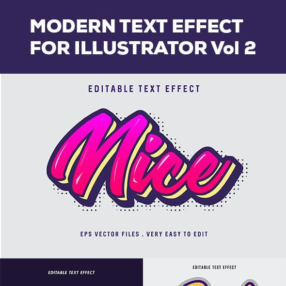 Modern Text Effect Vol 2