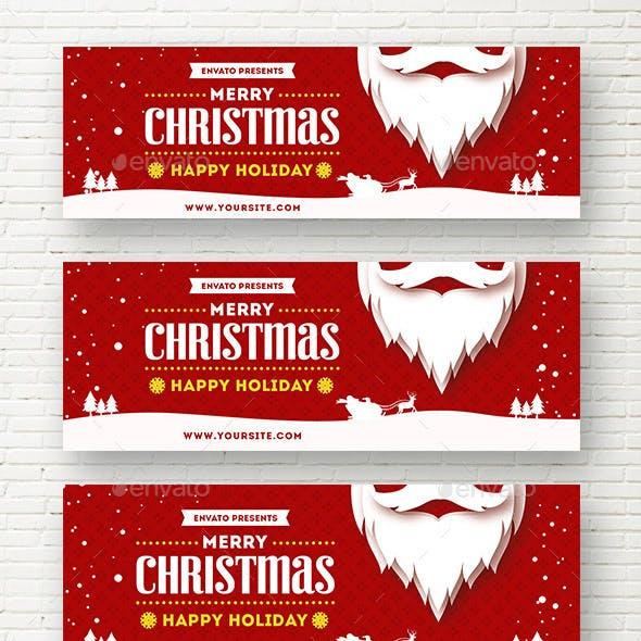 Christmas Holiday Web Sliders