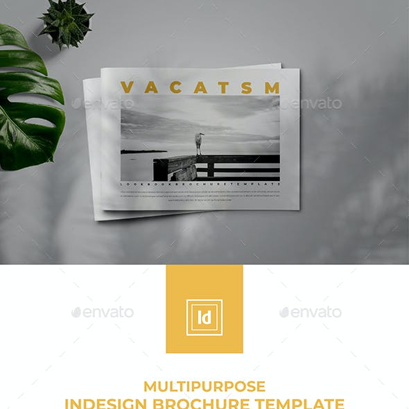 Multipurpose Indesign Brochure Lookbook Template
