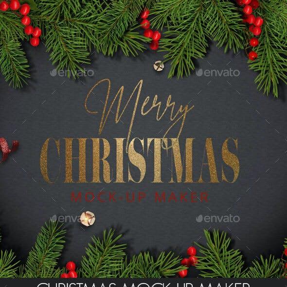 Christmas Mock-Up Maker
