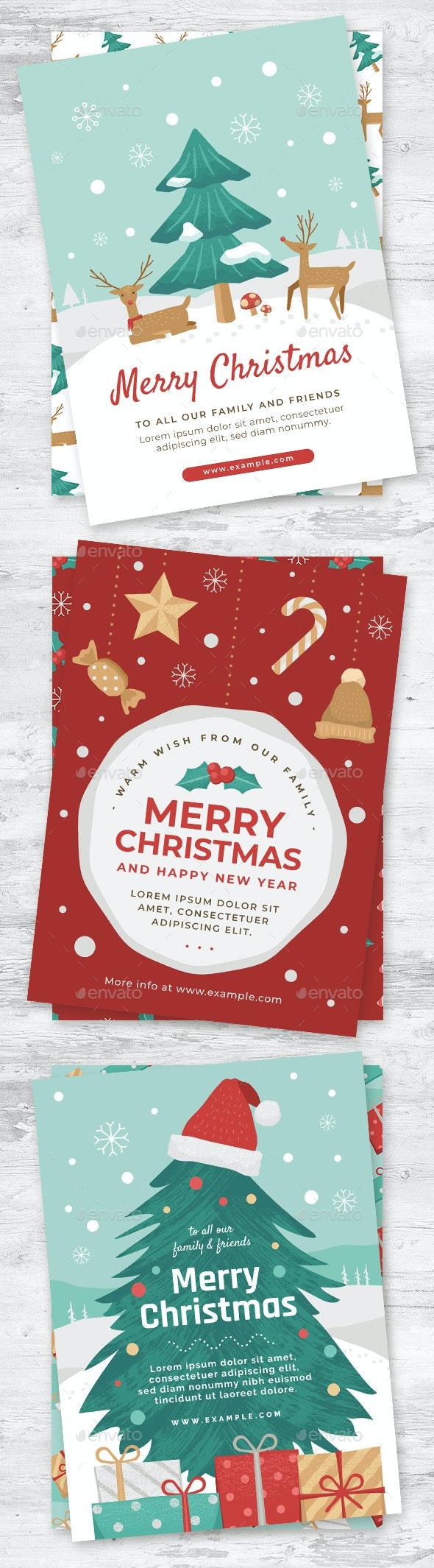 Christmas Card Templates