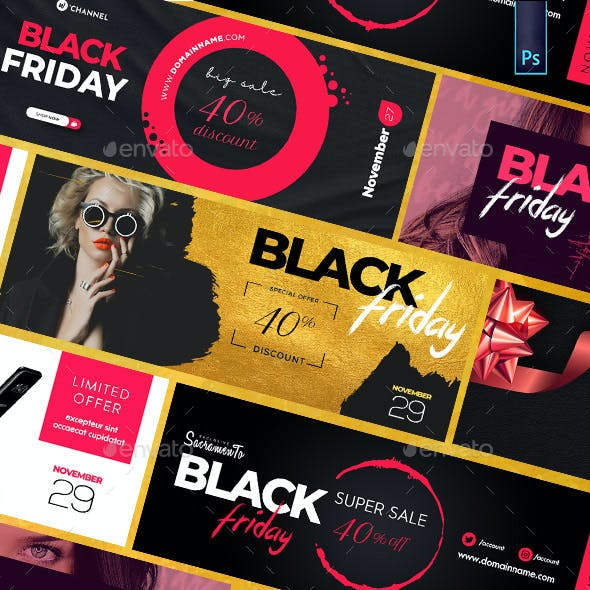 Black Friday Facebook Covers