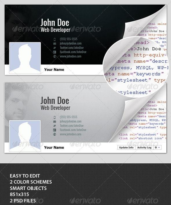 Developer Timeline Cover - Facebook Timeline Covers Social Media